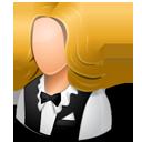 Waitress Female Light-128