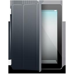 iPad 2 black black cover
