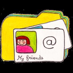 Folder y contacts