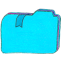 Folder b bookmarks 1 icon
