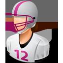 Footballplayer Female Light-128
