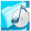 Dossier Blue Musique Icon
