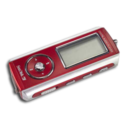 Red MP3 Player