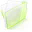 Dossier Green Papier Icon