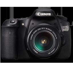 Canon 60D front