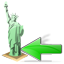 Statue of Liberty Back icon