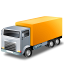 Yellow Truck Icon