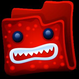 Creature Red Folder