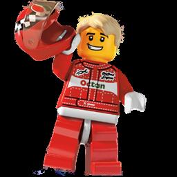 Lego Racecar Driver