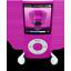 Pink iPod Nano Icon