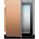 iPad 2 black brown cover-128