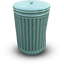 Bin closed icon