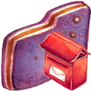 Mailbox Violet Folder-128