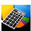 Statistics Calculator Icon