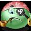 Pirate emoticon Icon