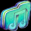 Music Alt Green Folder-128