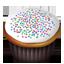 Cupcakes white icon
