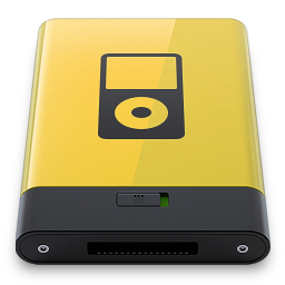 HDD Yellow iPod
