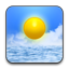 Weather rounded icon