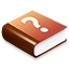 Red Help Book icon