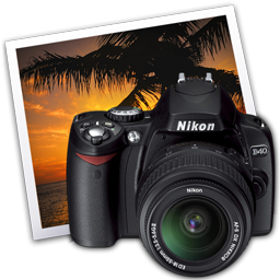 Nikon D40 iPhoto