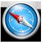 Safari Blue Classic icon