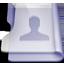 Purple user icon