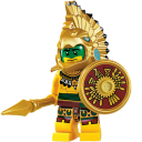 Lego Aztec Warrior-128