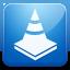 VLC blue icon