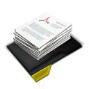 My Documents Pile Yellow-128