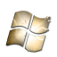 Windows Black and Gold icon