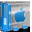 Mac HD blue icon