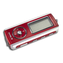 Red MP3 Player-128