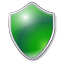 Shield green Icon