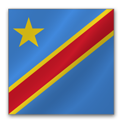 Democratic Congo Flag