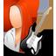 Guitarist Female Light-64