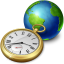 Network Clock icon