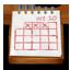 Wooden Calendar icon