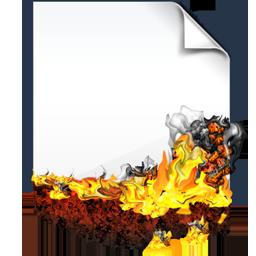Burnind Document