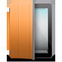 iPad 2 black orange cover-128