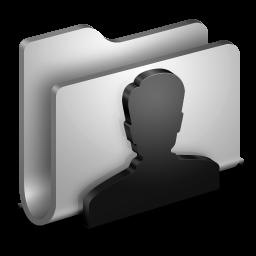 Users Metal Folder