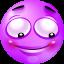 Modesty purple Icon
