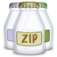 Fyle type zip icon