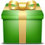 Gift Green icon