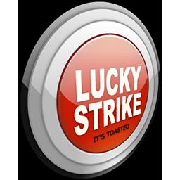 Lucky Strike Lights Gray Logo