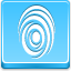 Finger Print Blue Icon