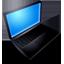 Mac Book Black (On) icon