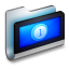 Movies Metal Folder icon