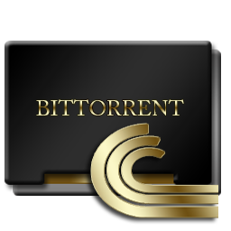 Bittorrent Black and Gold