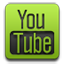 Youtube alt green icon